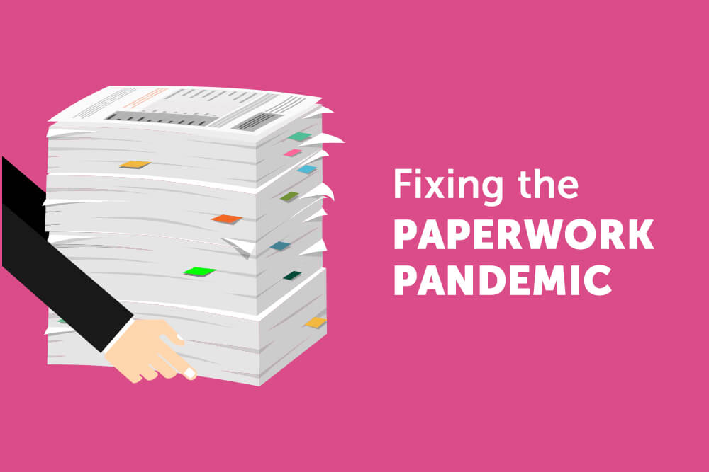 Cutting down on paperwork for pastoral leaders